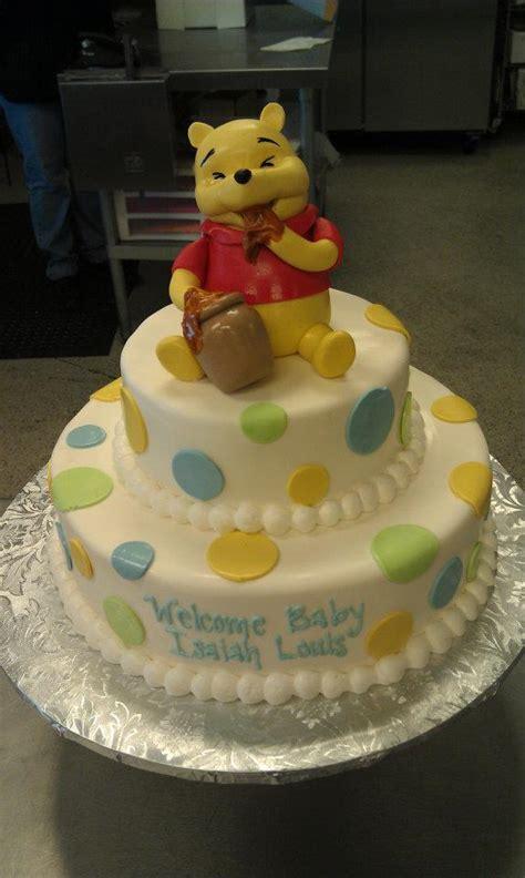 winnie the pooh cake baby shower winnie the pooh baby shower cake baby shower idea