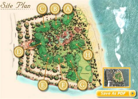 waipouli resort map hawaii vacations