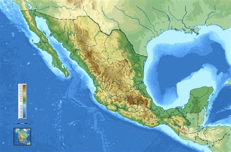 mexico map and mexico geographical map mexico
