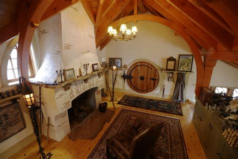 hobbit home interior jrr tolkien fan builds hobbit house in his back garden
