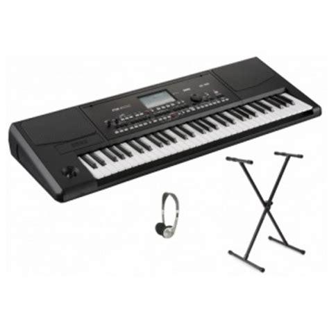 Keyboard Korg Pa300 Baru korg pa300 professional arranger keyboard bundle