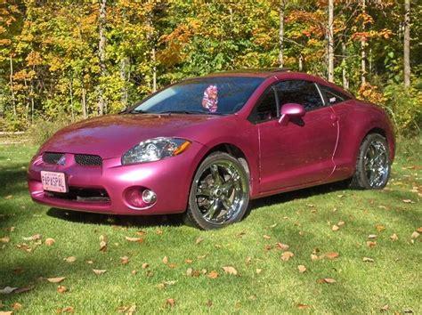 mitsubishi pink pink mitsubishi eclipse my car cars