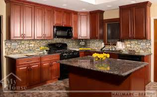 New Jersey Kitchen Cabinets by Fabuwood Hallmark Brandy Kitchen Cabinets Best Kitchen