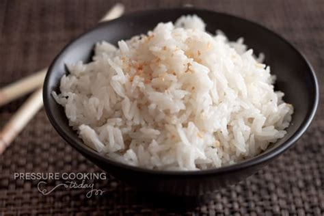 perfectly cooked coconut jasmine rice without a rice cooker recipe dishmaps