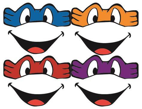 printable leonardo mask template for ninja turtle mask google search vinyl