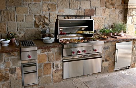 outside kitchen appliances tips for choosing outdoor kitchen appliances silo