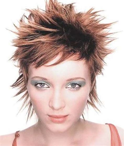 short edgy hairstyles pinterest funky and spiky short hairstyle edgy hair pinterest