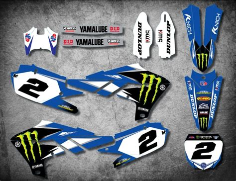 Yamaha Sticker Kits Australia by Custom Motocross Decals High Quality Sticker Kits
