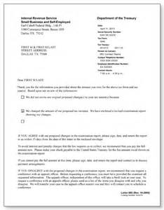 irs audit letter 692 sle 1