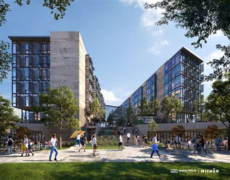 uc irvine housing hensel phelps mithun design build team awarded middle earth expansion student