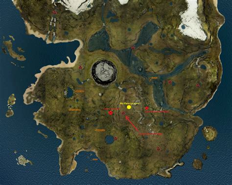the forest map steam community guide katana location updated for v0 52b 12 21 16