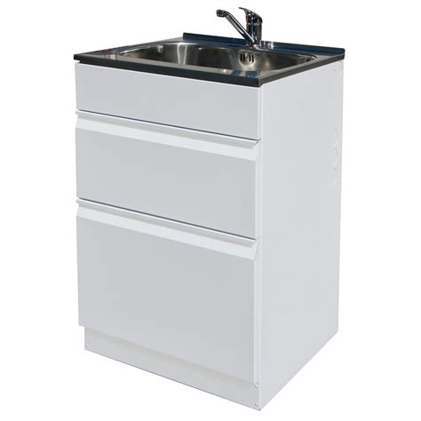 Laundry Drawer dissco laundry tub drawer 565 x 560mm bunnings