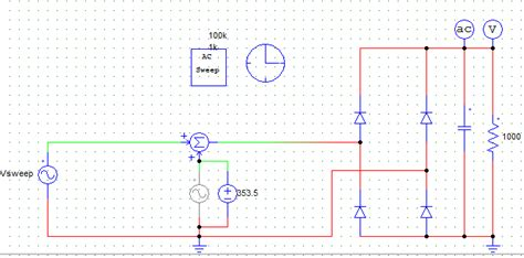 function of capacitor in ac supply capacitor transfer function of a bridge diode rectifier electrical engineering stack