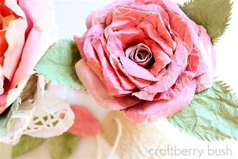 mulberry paper flower tutorial paper roses how to nest for less