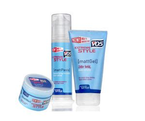 Vo5 Sweepstakes - grab a free sle of vo5 extreme style paste free product sles