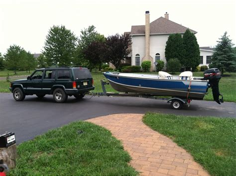 jeep boat tow or not to tow a boat page 3 jeep cherokee forum