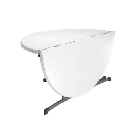 60 round fold in half table lifetime fold in half folding table 25402 60 inch white