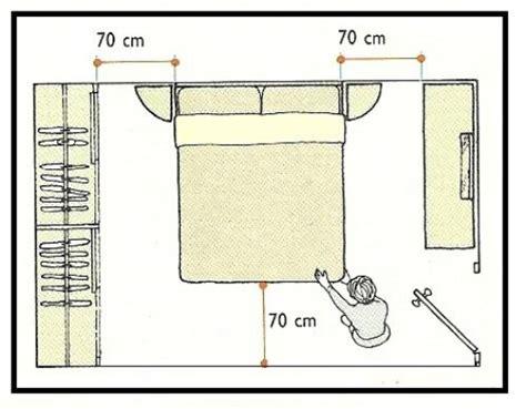 letto matrimoniale misure minime spazi utili nei vani studio camere e bagno