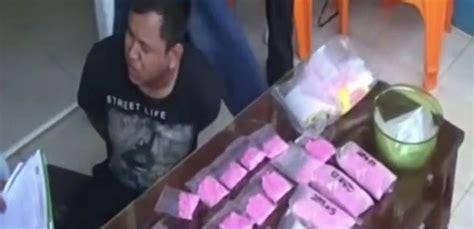 Pil Penggugur Uh 7 Bulan Baru 2 Bulan Bebas Bandar Narkoba Ini Ditangkap Bersama 7