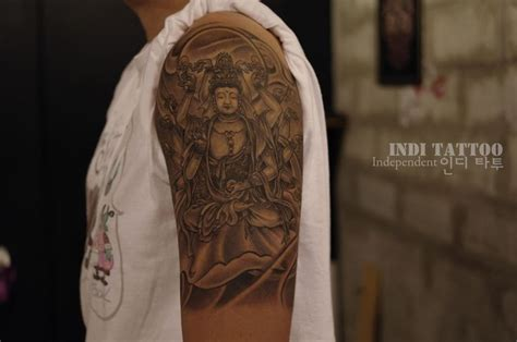 tattoo studio in korea senju kannon buddhist tattoos korea indi tattoo studio