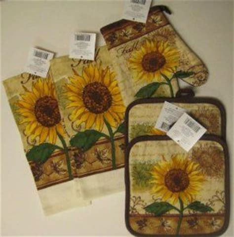 sunflower kitchen ideas sunflower kitchen amazon com fall sunflower kitchen