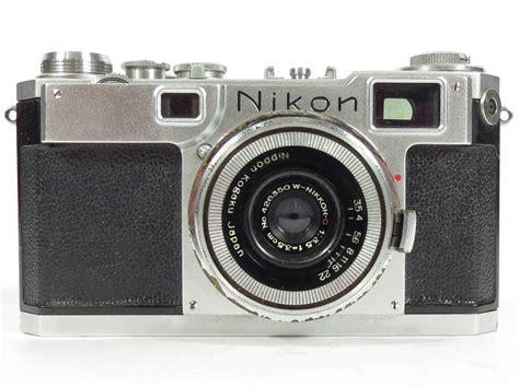 vintage nikon s2 rangefinder 35mm w nikkor c f 3 5 lens ebay