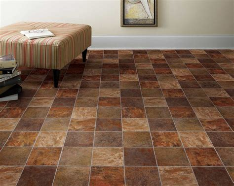 Bathroom Tile Ideas On A Budget by How To Lay A Vinyl Tile Floor Express Flooring