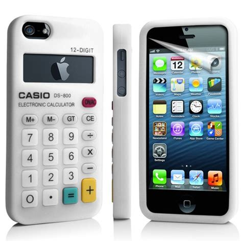 Iphone Iphone 6 Calculator Classic white calculator silicone for apple iphone5 iphone 5