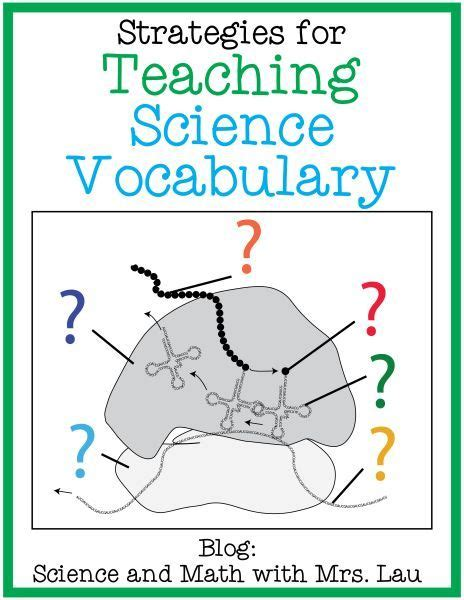 Science Task Card Template by Strategies For Teaching Science Vocabulary A Free Flash