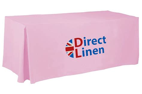 fitted logo tablecloths branded tablecloths fitted with logo direct linen made in uk