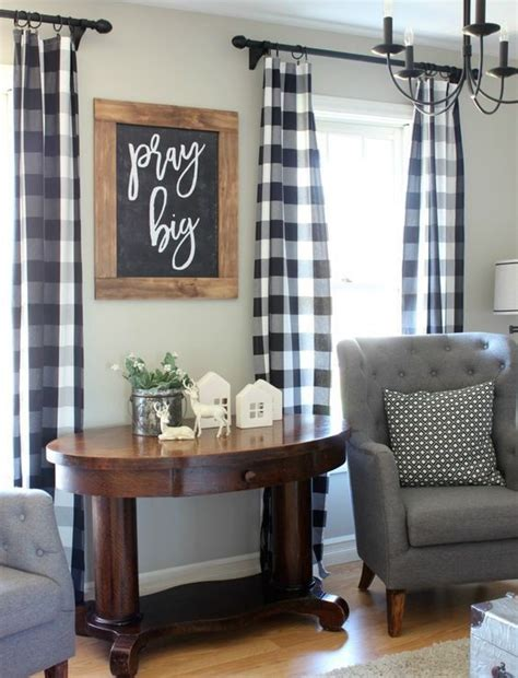 buffalo check curtains black 17 best ideas about buffalo check curtains on pinterest
