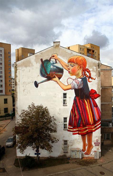 beautiful street art  natalia rak