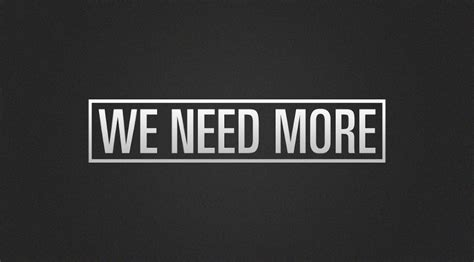 We Need More And Time by We Need More The Work Of Joey G