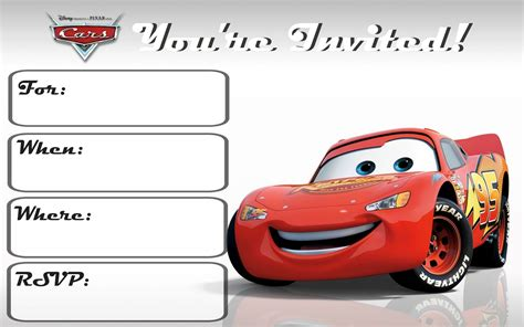 printable birthday invitations cars free printable cars invitation orderecigsjuice info