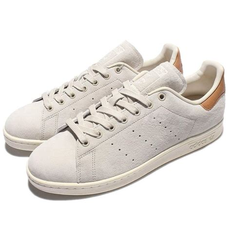 adidas originals stan smith brown grey classic shoes sneakers bb0042 ebay