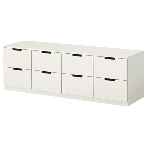 ikea nordli storage bed nordli chest of 8 drawers white 160x52 cm ikea