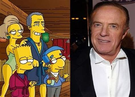 Celebrity Simpsons Characters