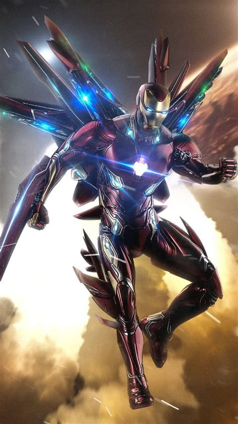 avengers endgame iron man suit iphone wallpaper iphone
