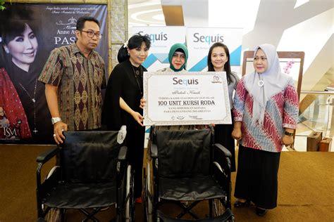 Kursi Roda Makassar berbagi kursi roda kasih 3 persembahan sequis peduli