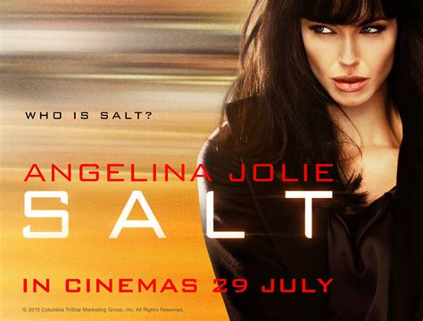 what s a salt l really kool salt movie review it s angelina jolie at her
