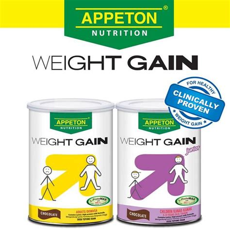 Appeton Height Gain appeton weight gain can help you gain weight city