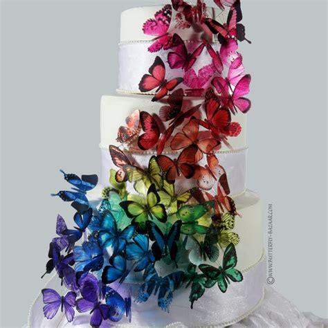 Butterfly Wedding Cake by Purple Butterfly Wedding Cakes Decoration Ideas Wedding Ido