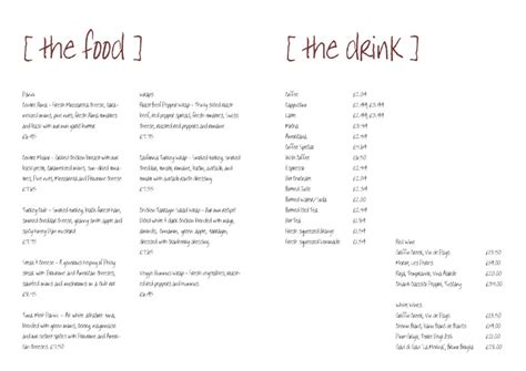 menu design templates amazing restaurant menu design template menu
