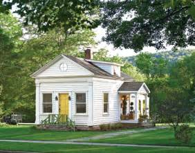 cottage house an old schoolhouse becomes a cozy cottage in the catskills hooked on houses