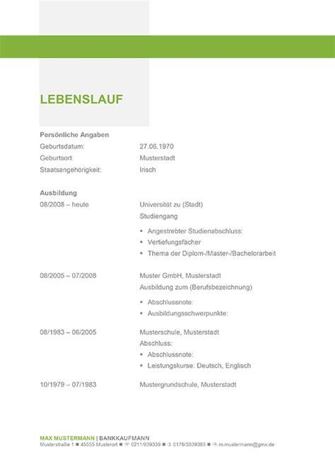 Lebenslauf Muster Student Praktikum Bewerbungsvorlage Excellence Gr 252 N Jobkomet Alles F 252 R Den Aufstieg