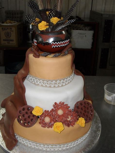 25  best ideas about African wedding cakes on Pinterest