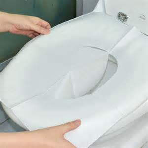 bathroom toilet covers 30pcs disposable toilet mat antibacterial waterproof seat