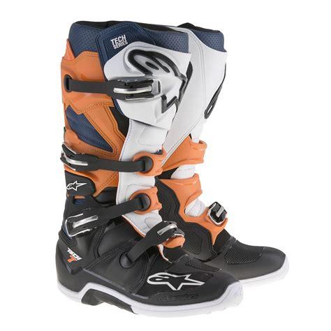 orange motocross boots alpinestars 2017 tech 7 motocross boots black orange