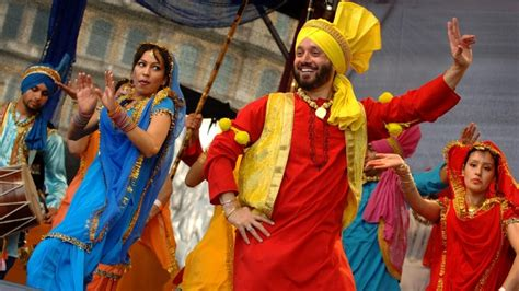 london celebrates colourful sikh festival vaisakhi