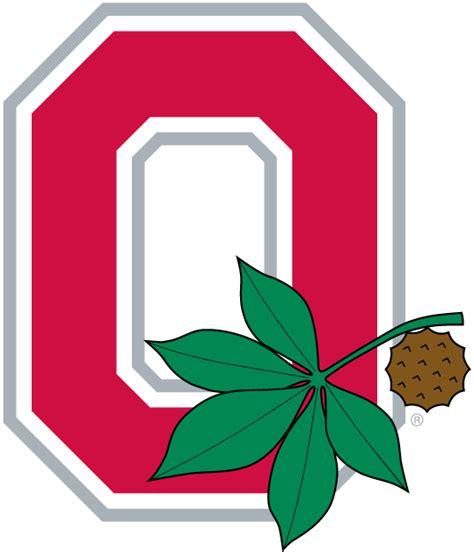 Ohio State Logo Outline by Ohio State Buckeyes Alternate Logo 1968 A O With Leaf And Buckeye Nut I Bleed Scarlet